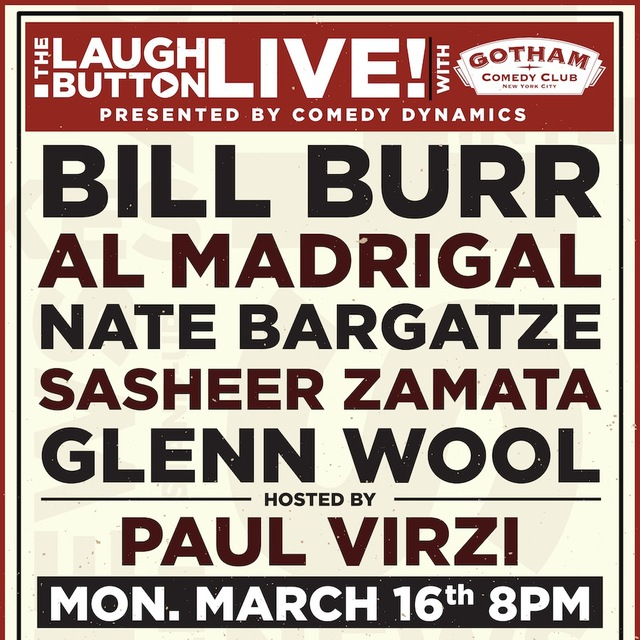 avatar for The Laugh Button Live with Gotham Comedy Club
