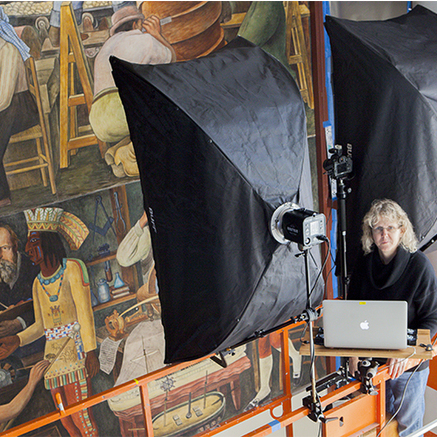 avatar for Photogrammetric imaging of a large-scale Diego Rivera fresco mural
