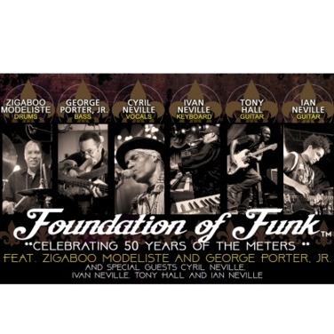 avatar for Foundation Of Funk feat. Zigaboo Modeliste, George Porter Jr., Cyril Neville, Ivan Neville, Tony Hall