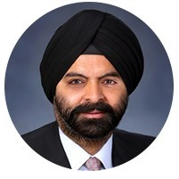 avatar for Ajay Banga