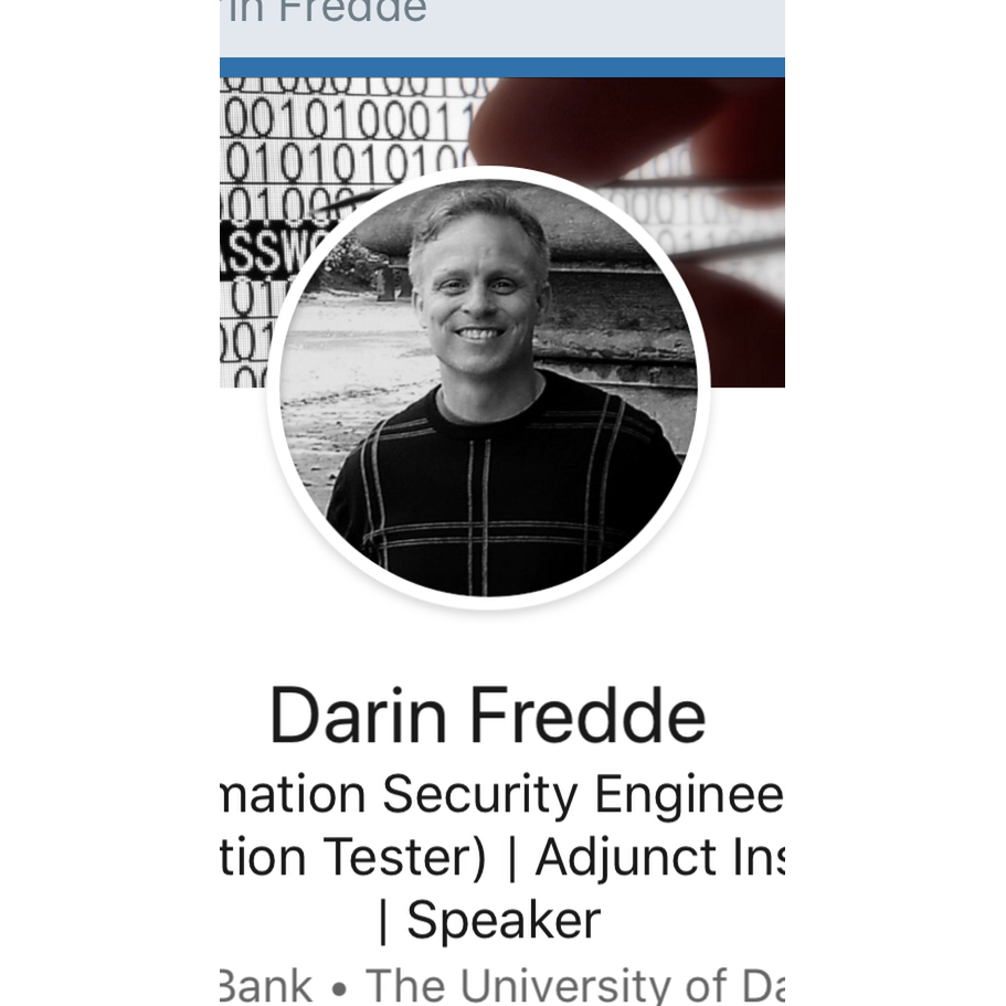 avatar for Darin Fredde