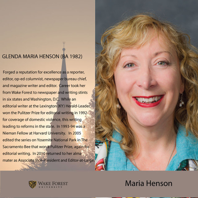 avatar for Maria Henson