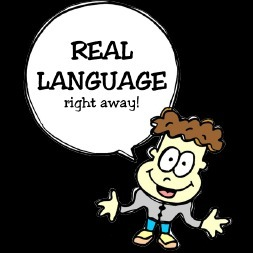 avatar for REAL LANGUAGE right away