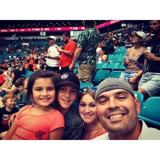 Major Hubert, Yinay, Adrian and Eva Ruiz Family