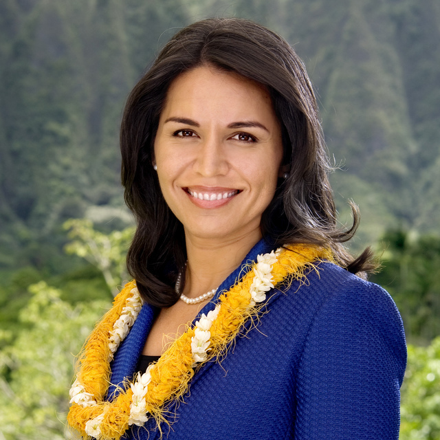 avatar for Representative Tulsi Gabbard