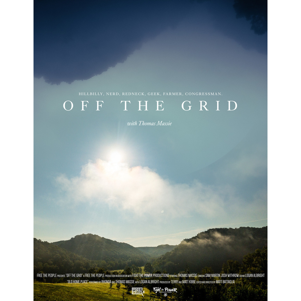 avatar for Off the Grid with Thomas Massie (38 min) Matt Battaglia, dir.