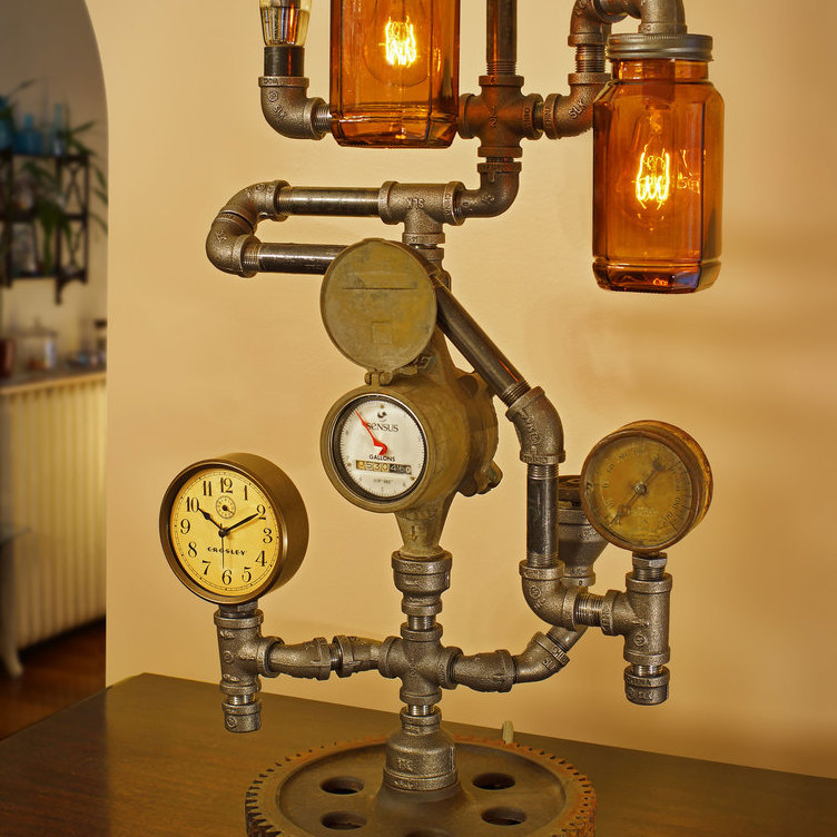 avatar for Steve Gallagher's Steampunk & Industrial Pipe Lamps