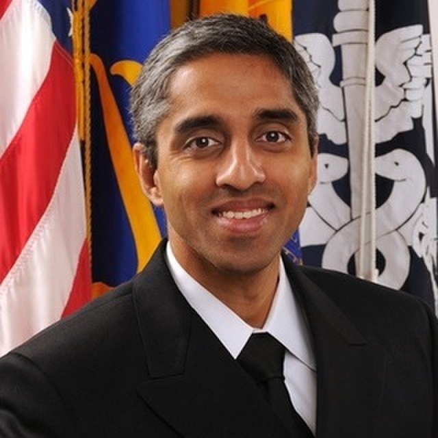 avatar for Vice Admiral Vivek H. Murthy, United States Surgeon General