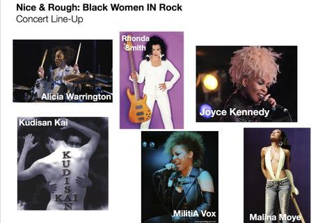 avatar for Black Women IN Rock (Nice & Rough) featuring Joyce Kennedy, Rhonda Smith, Kudisan Kai, Malina Moye, Alicia Warrington, M