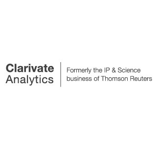 avatar for Clarivate Analytics, Formerly the IP & Science business of Thomson Reuters