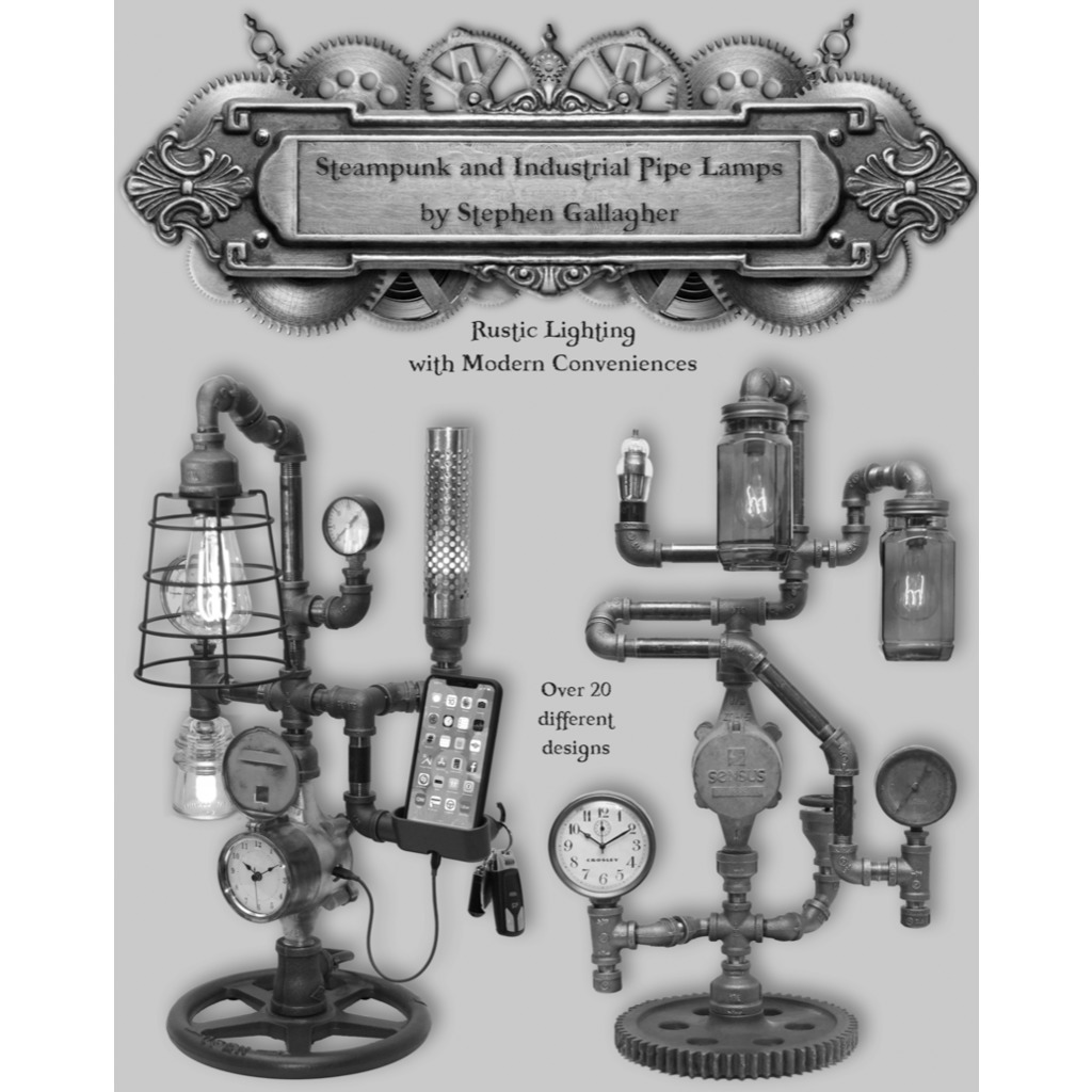 avatar for Steampunk & Industrial Pipe Lamps by Stephen Gallagher