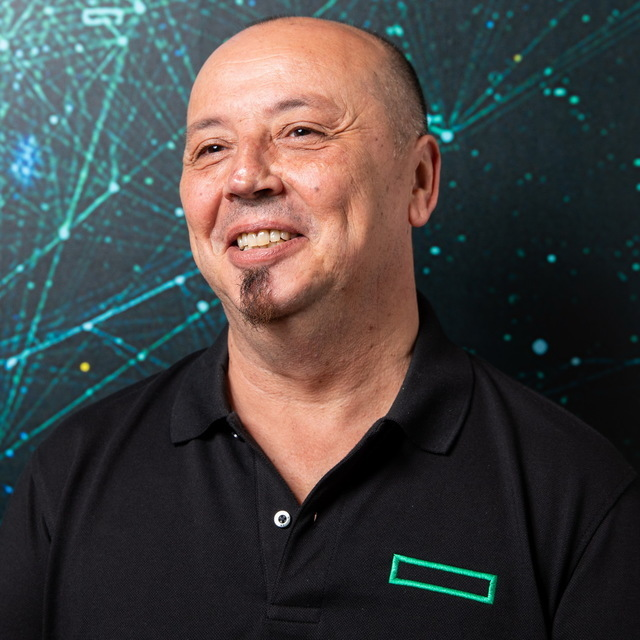 avatar for Hewlett-Packard Enterprise, Francisco (Paco) Frutos