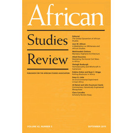 avatar for African Studies Review