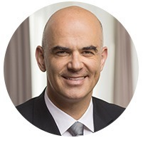 avatar for His Excellency Alain Berset