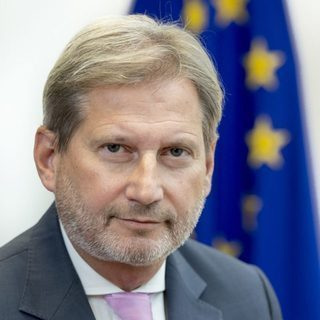 avatar for Johannes Hahn (via a video address)