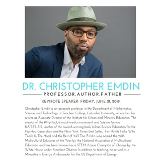 avatar for Dr. Christopher Emdin